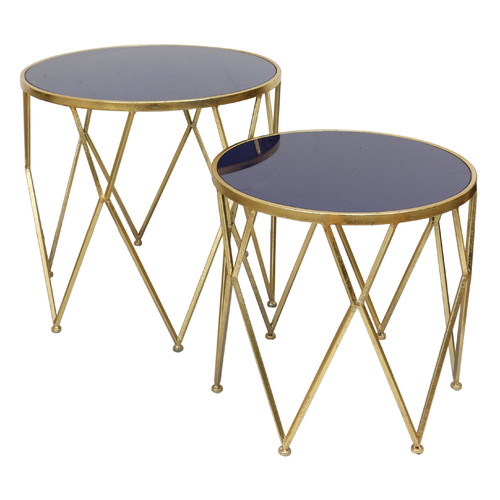 Selectives Knight 2 Piece End Table Set