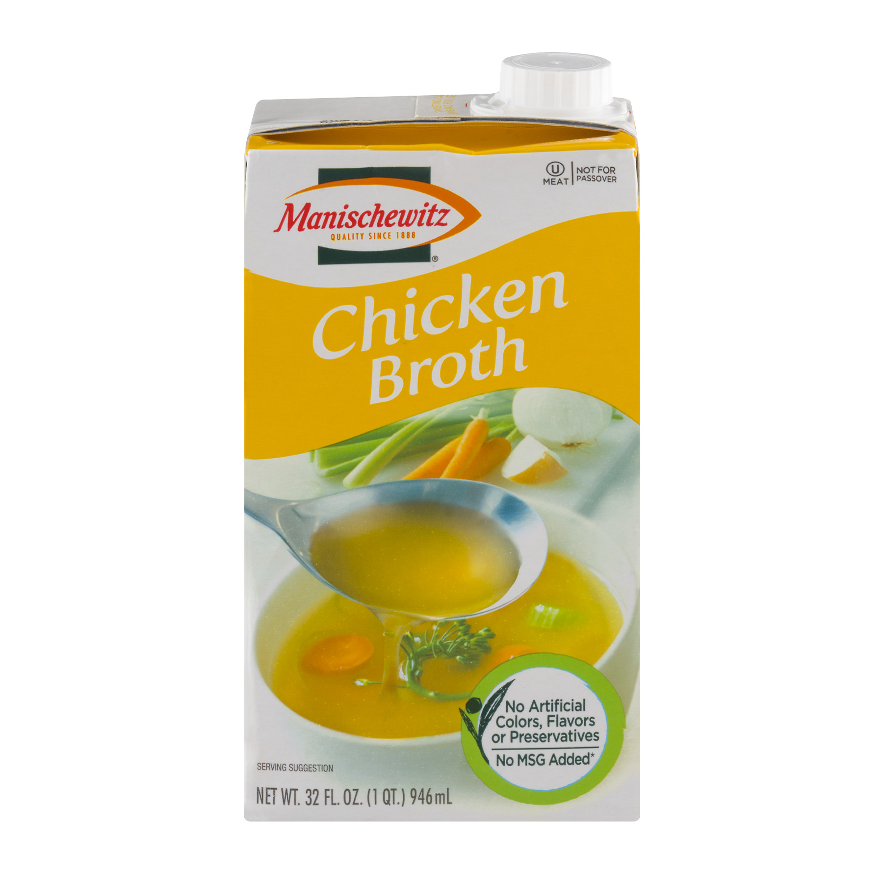 Manischewitz Chicken Broth, 32.0 FL OZ