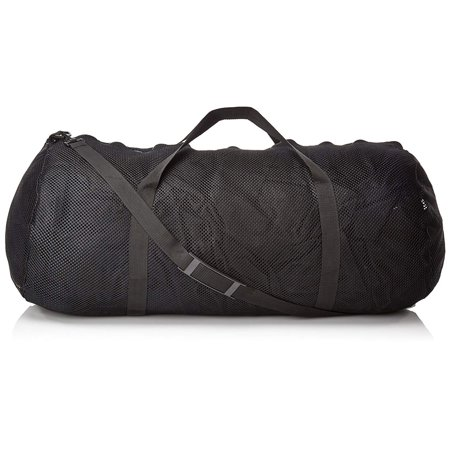 "Mesh Duffel Bag MD45 15"" x 36"" - Black, Oversized mesh duffle bag By Champion Sports"