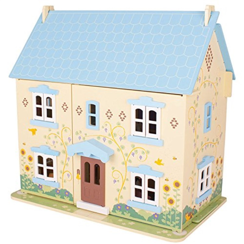 Bigjigs Heritage Playsets Blossom Cottage Children/'s Kids Play Doll House