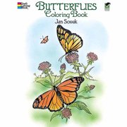 Dover Publications, Butterflies Coloring Book