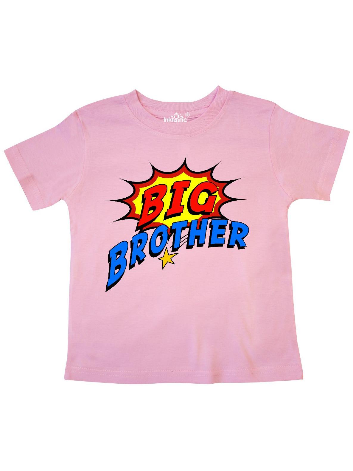 Big Brother Superhero Toddler T-Shirt