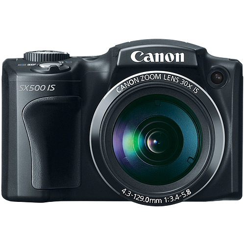 Canon PowerShot SX500 IS Ultra Zoom Digital Camera with 1...