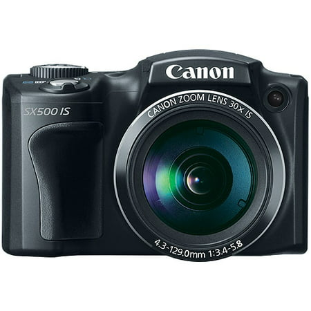 Canon PowerShot SX500 IS Ultra Zoom Digital Camera with 16 Megapixels and 30x Optical Zoom