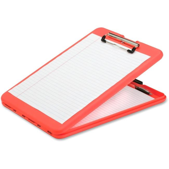 Plastic Letter Clipboard - Orange