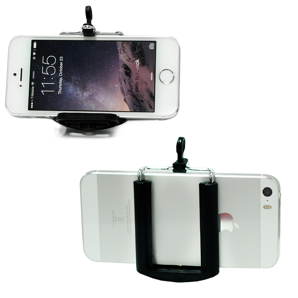 Loadstone Studio TILT Mount Bracket Clamp with iPhone 6, 5S 5 Galaxy S5 S4 Cellphone