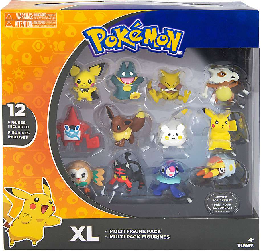 Pokemon Multi-Pack 12 Pieces Action Figures by TOMY