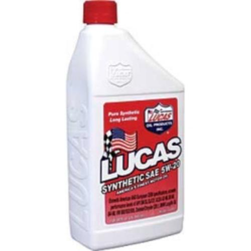 Motor Oil, Synthetic High Performance Motor Oil, Synthetic 5w20, Case Of 6, Quart Size Bottles