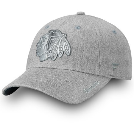 Chicago Blackhawks Fanatics Branded Women s Lux Slate Trucker ... a0a03c5b95
