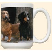 Dachshund Path Mug by Fiddler's Elbow - C13FE