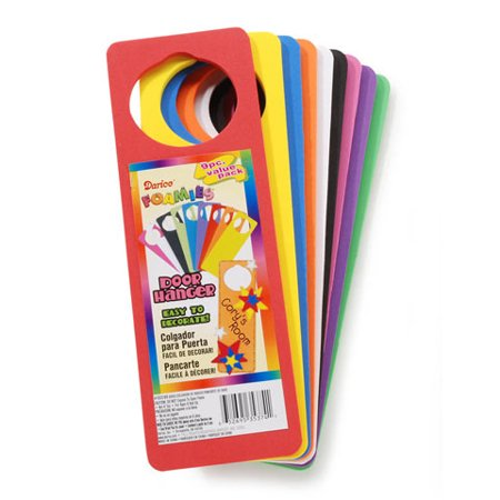 Foamies Door Hangers Value Pack: Basic Colors (Foam Door Hangers)