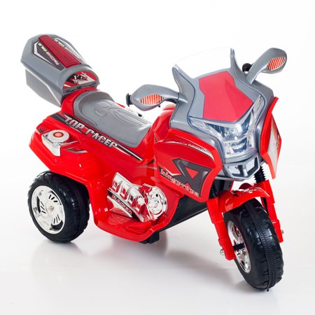 Ride on Toy, 3 Wheel Motorcycle Trike for Kids, Battery Powered Ride On Toy  by Lil' Rider - Ride on Toys for Boys and Girls, 2 - 5 Year Old - Red