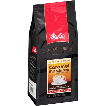 Melitta Ground Coffee, Caramel Macchiato, 10.5 Oz