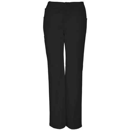Low Rise Flare Scrub Pant - Premium Collection Women's Drawstring Stretch Scrub Pant