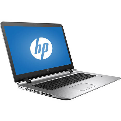 "HP Black/Silver 17.3"" 470 G3 Laptop PC with Intel Core i5-6200U Dual-Core Processor, 8GB Memory, 500GB Hard Drive and Windows 7 Professional"