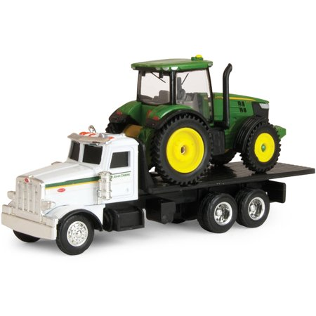 (ERTL John Deere Dealer Truck with 7R Tractor)