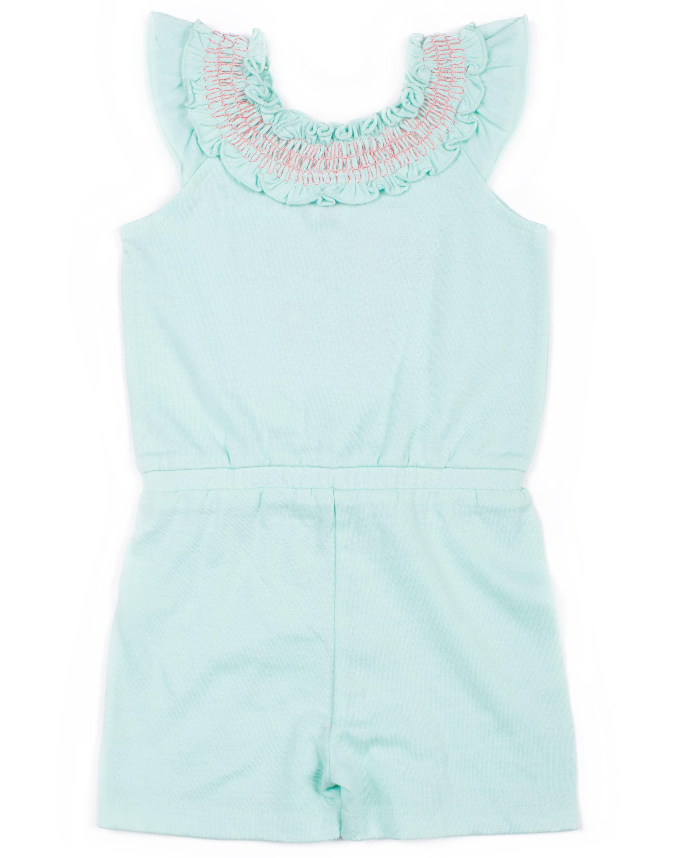 6e0111e2dbe7 Toddler Girls  Sequin Knit Romper - Walmart.com