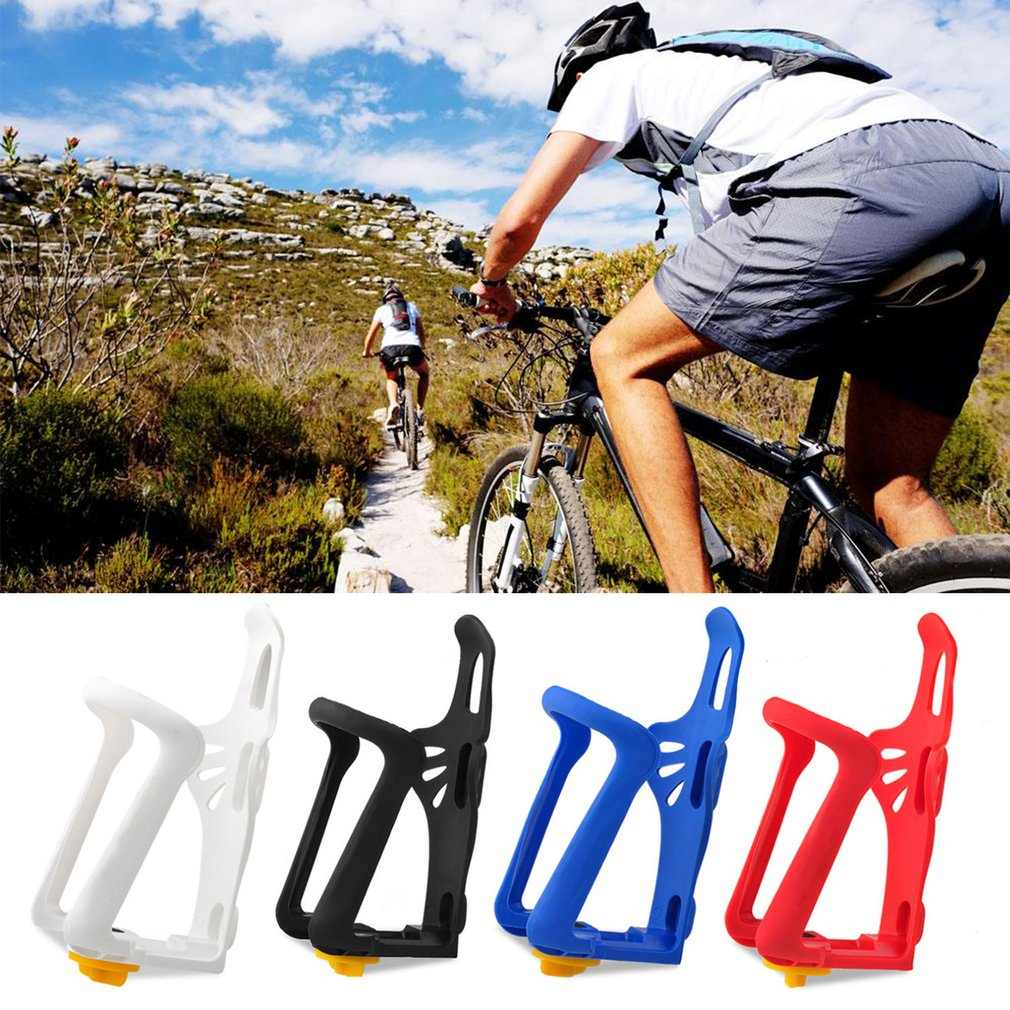 Durable Plastic Road Mountain Bike Bicycle Water Bottle Holder Rack Cage