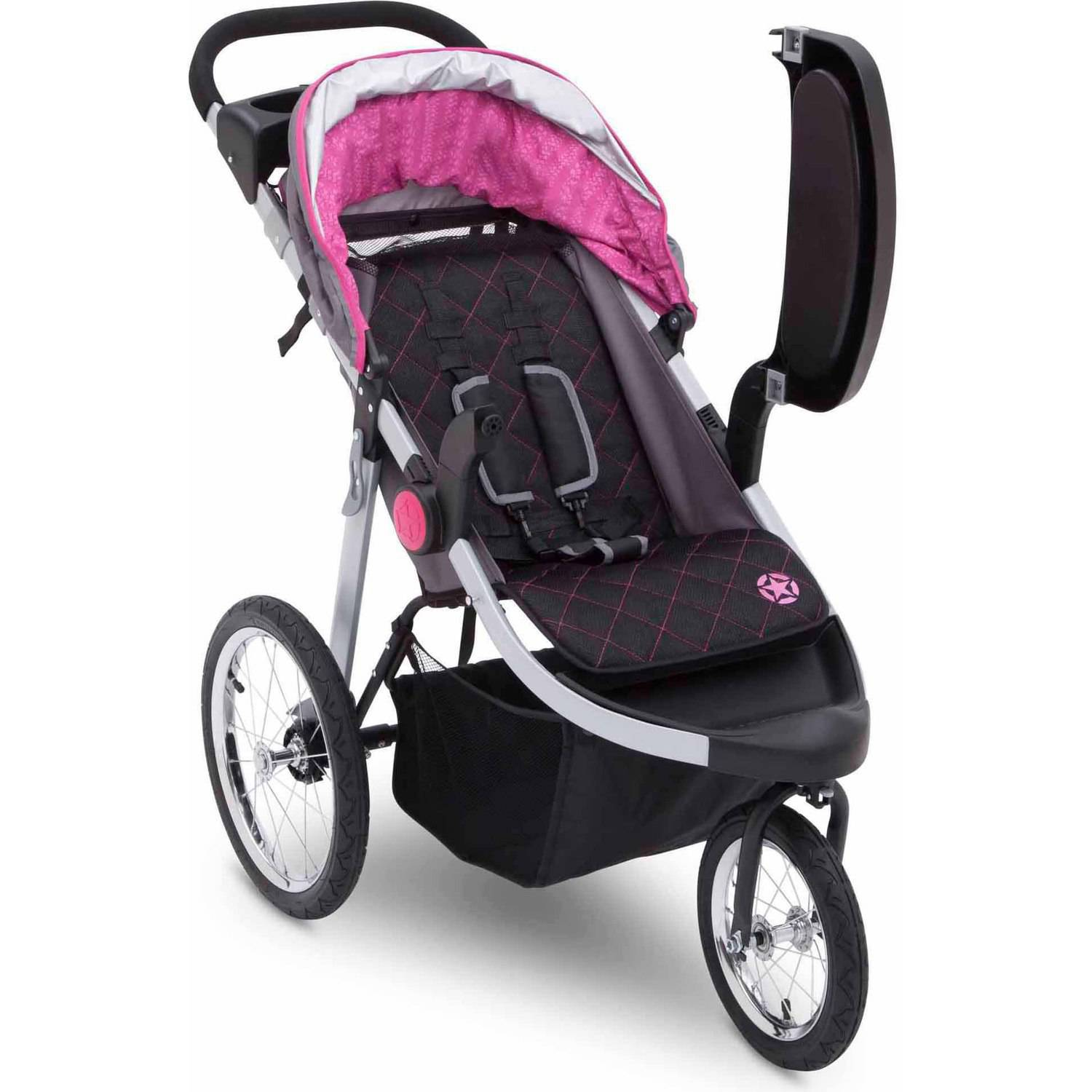 jogging stroller pink strollers 2017. Black Bedroom Furniture Sets. Home Design Ideas