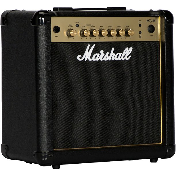 "Marshall MG15GR 15-watt 1x8"" Combo Amp w/ Reverb"
