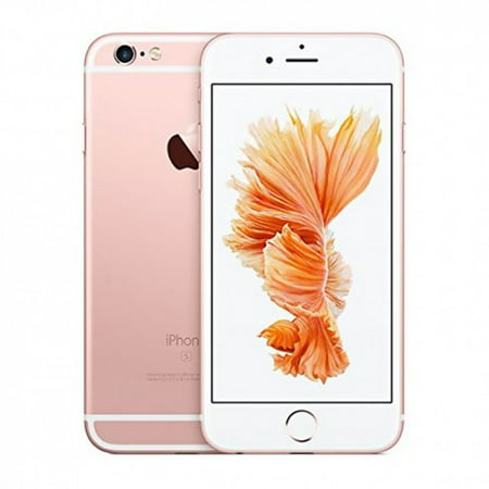 Refurbished Apple iPhone 6s Plus 64GB, Rose Gold - Unlocked GSM (with 1 Year
