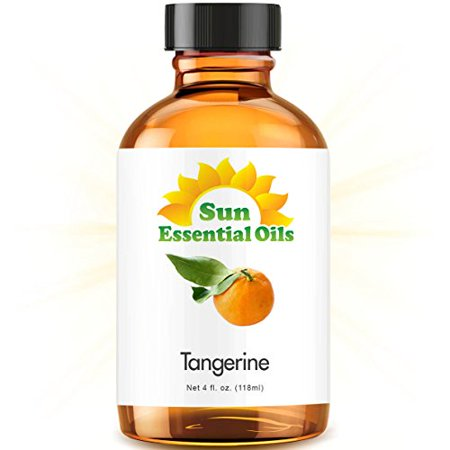 Tangerine (Large 4oz) Best Essential Oil (Large Oil Menorah)