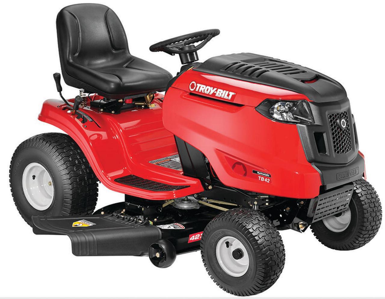 Troy-Bilt 13AAA1KT066 Hydrostatic Riding Lawn Mower, 46 in W, 17.5 hp, 656 cc by MTD Products