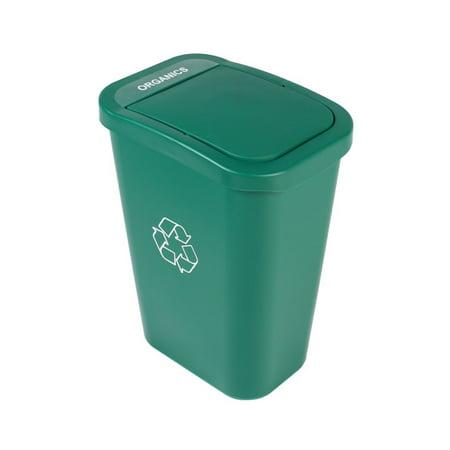 Busch Systems Billi Box Organics Bin - Single Stream 10 G - Solid - Green - Organics Indoor Container - image 2 of 2