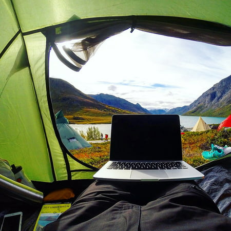 Framed Art for Your Wall Tent Laptop Camping Travel