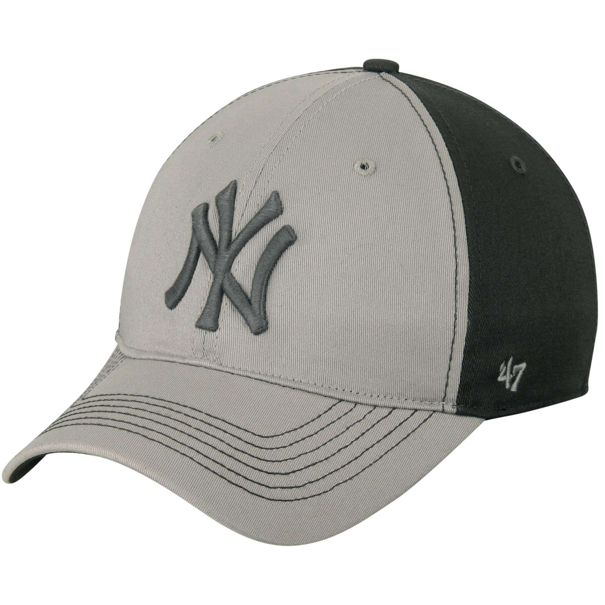 New York Yankees '47 Umbra Closer Flex Hat - Gray/Dark Gray - M/L