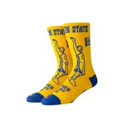Stance Casual NBA Curry Stencil Crew Socks Large