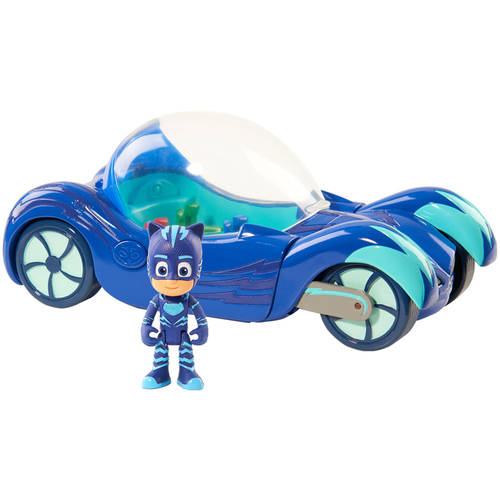 PJ Masks Deluxe Vehicle Assortment, Deluxe Catboy Cat-Car