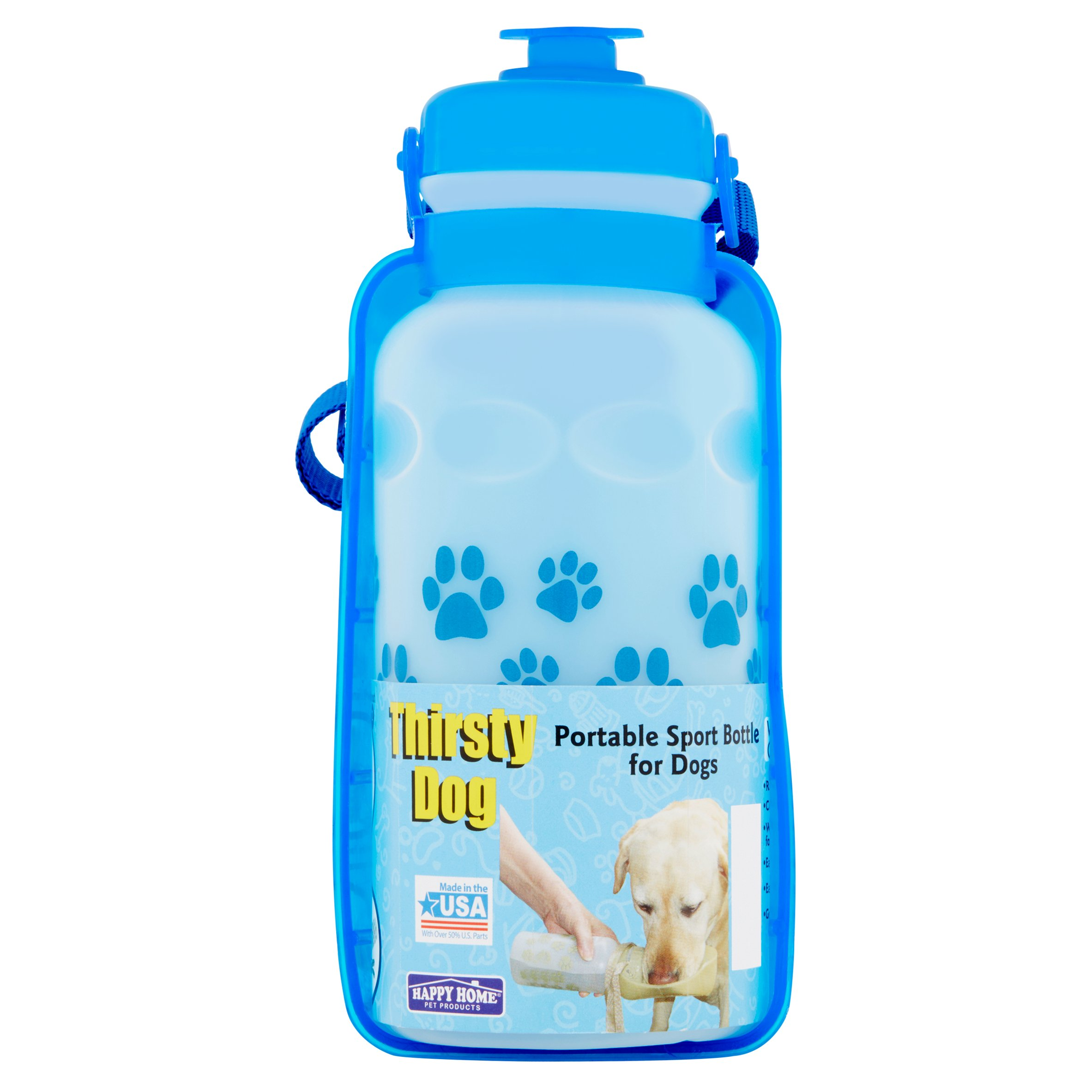 Third Shift Thirsty Dog Water Bottle Dog Bottle, Multicolor