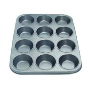 12 Cup Muffin Pan (Pack of 3)