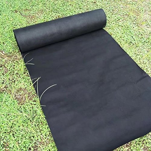 Agfabric Landscape 3x100ft Bio-Weed Barrier Biodegradable Nonwoven Fabric for Raised Bed,Organic Gardening,Garden Mat,UV stabilized and Plastic Mulch Weed Block