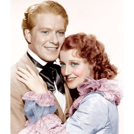 Maytime From Left Nelson Eddy Jeanette Macdonald 1937 Photo Print ()