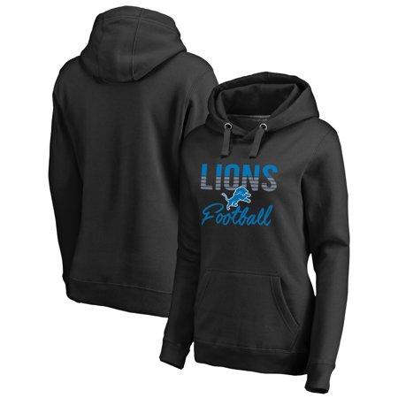 8c0f1e6a Detroit Lions NFL Pro Line by Fanatics Branded Women's Free Line Pullover  Hoodie - Black