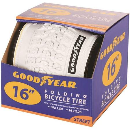 White Bike Tires - Goodyear 16