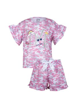 d186cc80d Product Image Sleep On It Camo printed tee/short pajama set (2-piece set)