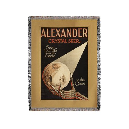 Alexander, Crystal Cradle to the Grave Magic Poster (60x80 Woven Chenille Yarn Blanket)