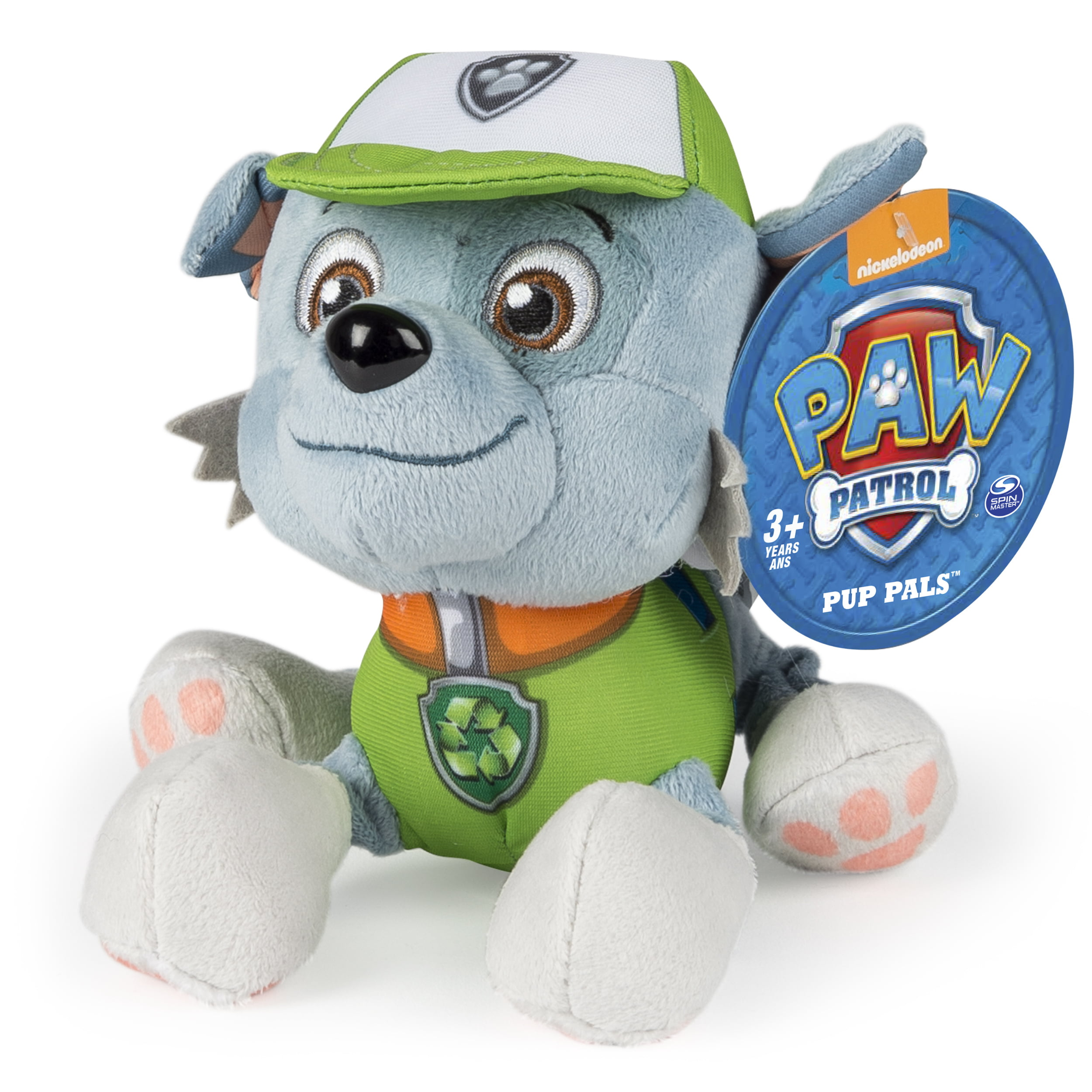 Paw Patrol Plush Pup Pals, Rocky by Spin Master Ltd
