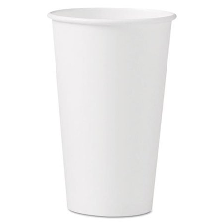 Solo Cup 316W Polycoated Hot Paper Cups, 16 oz. (Kimber Solo Cdp For Sale In Stock)