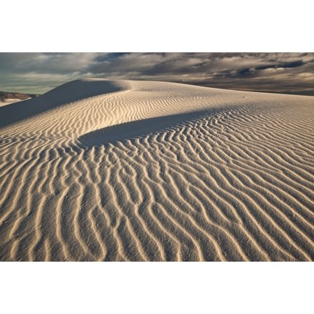 White Sands National Monument New Mexico Posterprint