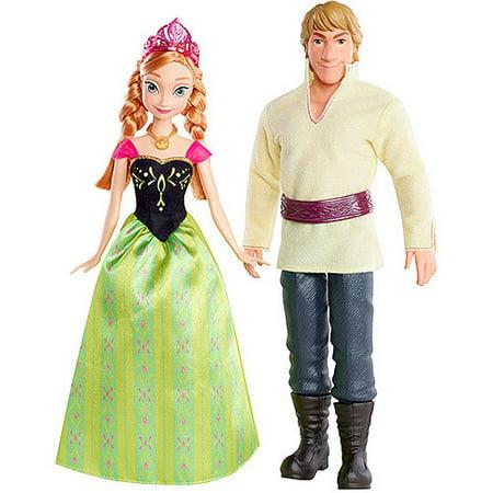 Disney Frozen Anna/kristoff 2 Pack - Kristoff Outfit Frozen