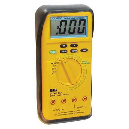 UEI TEST INSTRUMENTS CLM100-N Cable Length Meter,Measures ft., m G4310419 by UEI TEST INSTRUMENTS