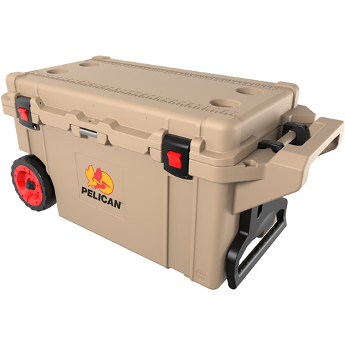 Pelican 80-Qt Elite Cooler, Tan