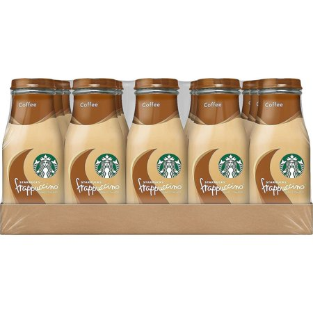 Starbucks Frappuccino Coffee Drink, Caramel, 9.5 oz Glass Bottles, 15 Count