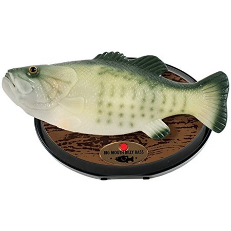 Big Mouth Bass - Gemmy Inflateables Holiday (G08 47957) Big Mouth Billy Bass, Green - 15th Anniversary Edition