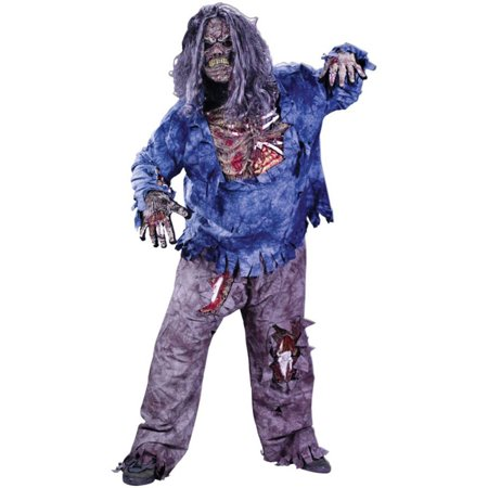 Morris Costumes Adult Mens Plus Size Zombie Costume One Size Plus, Style FW5731 - Plus Size Zombie Costumes