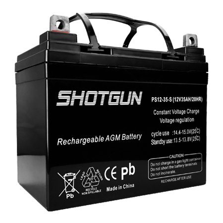 12v 35ah High Capacity Deep Cycle Battery For Solar Wind Panels